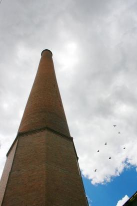 Smokestack at Salida Smelter, Salida, Colorado