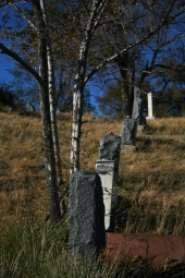 Headstones on Hill