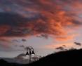 Sunset Lampost