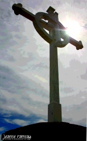Light on the cross