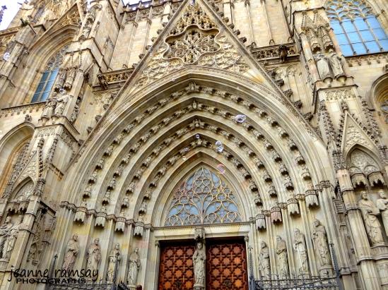 Barcelona Doorway