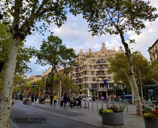 Barcelona Streetscape