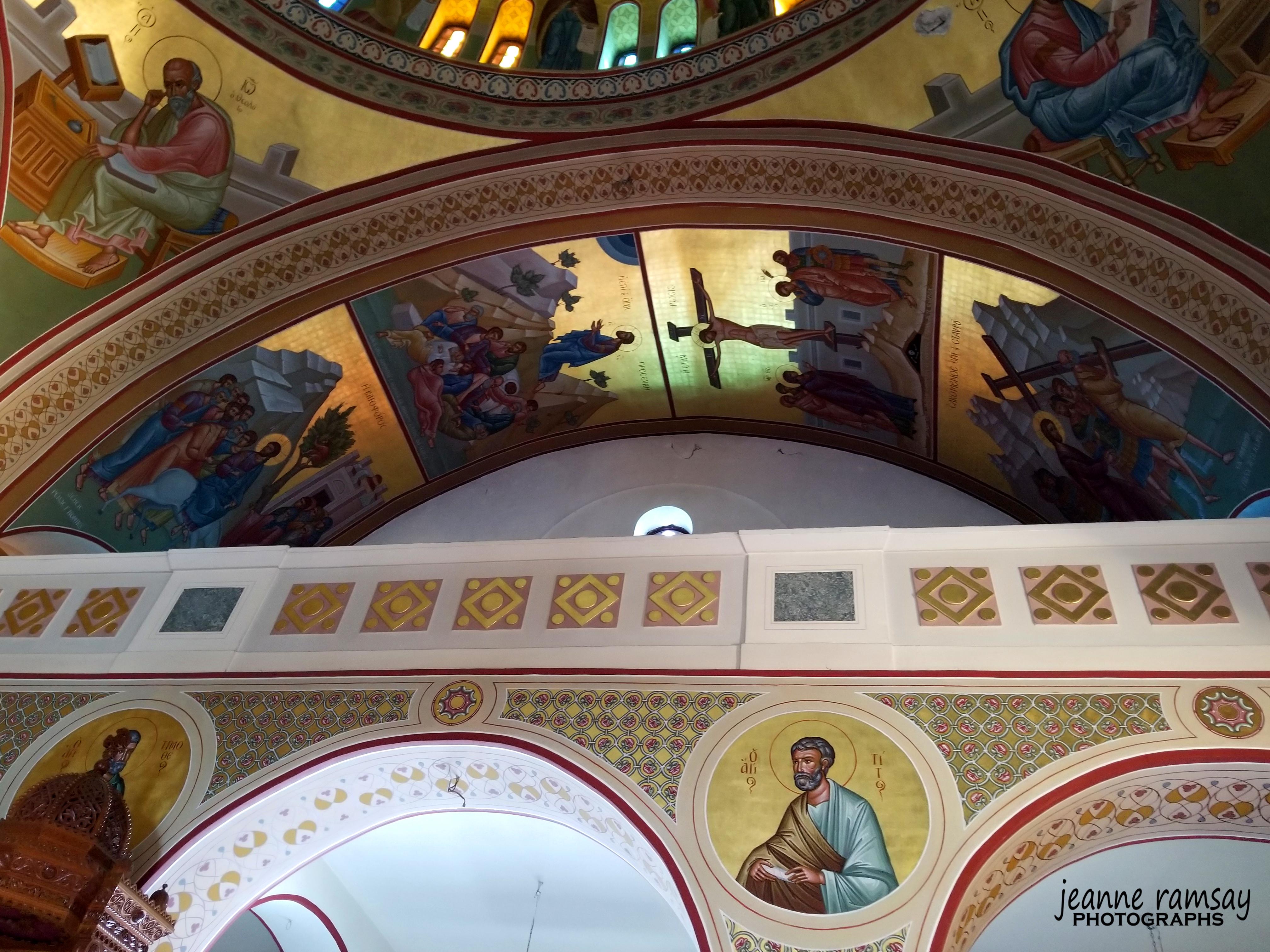 Ceiling of Greek Church