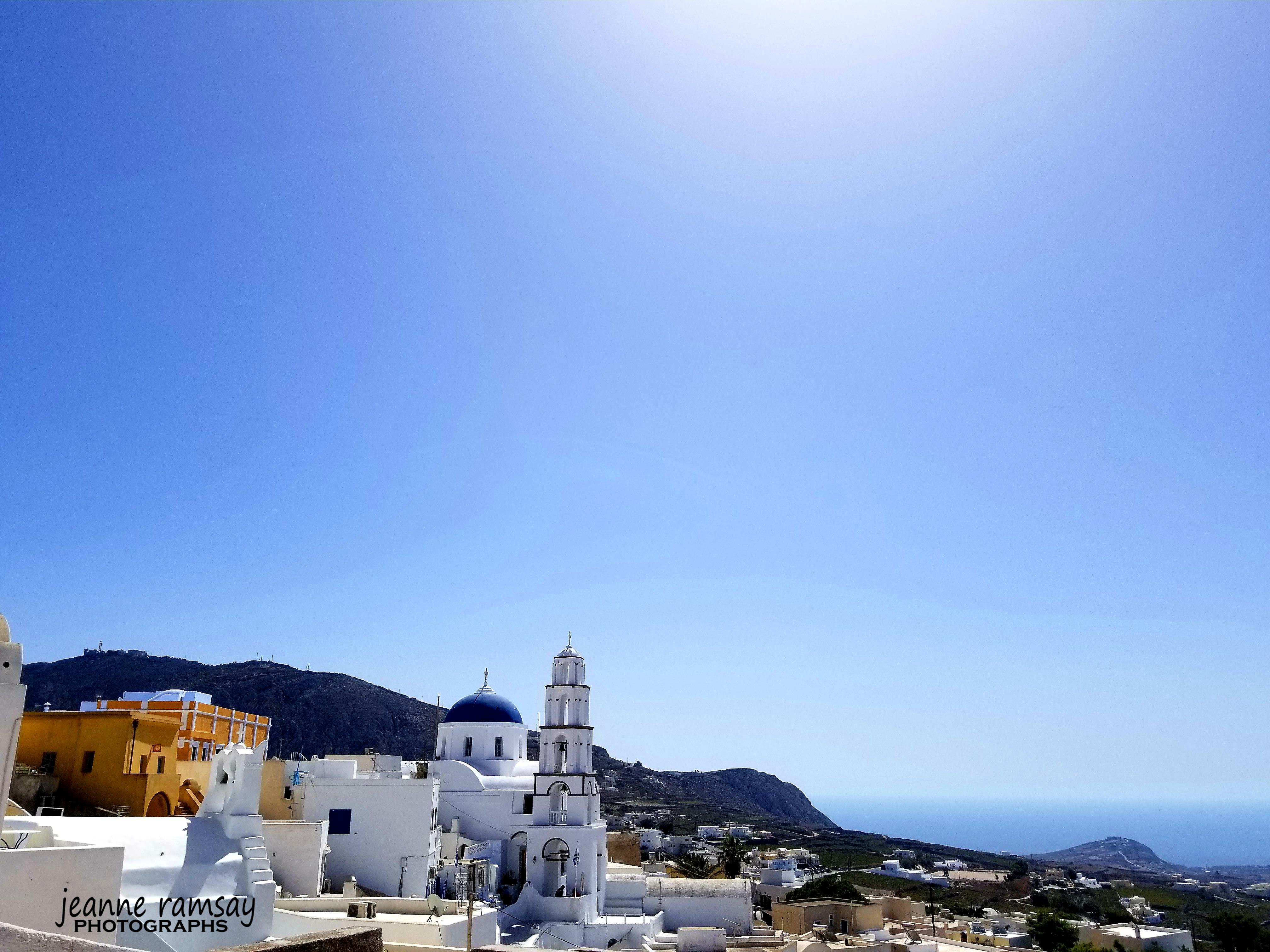 Greece landscape