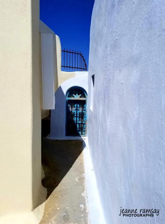 Greece walkway
