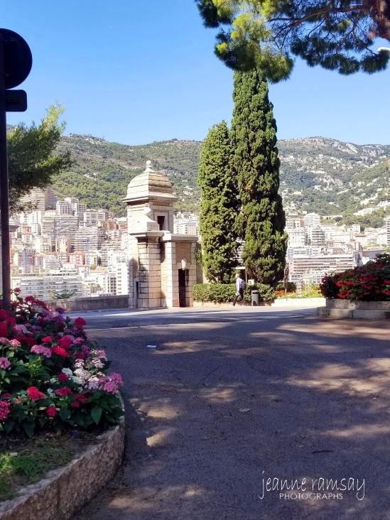 Monaco Gardens and view